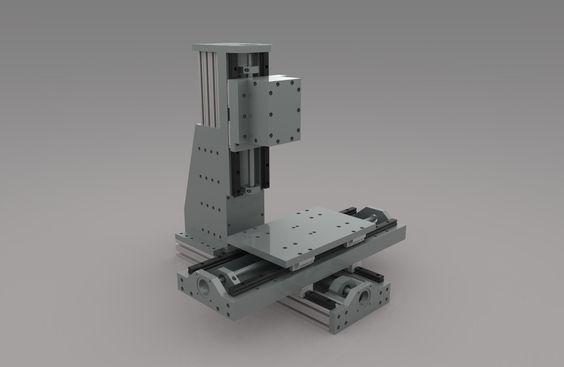 DIY cnc mill - Rhino - 3D CAD model - GrabCAD