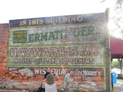 Ghost Sign Appears in Downtown St. Petersburg.
