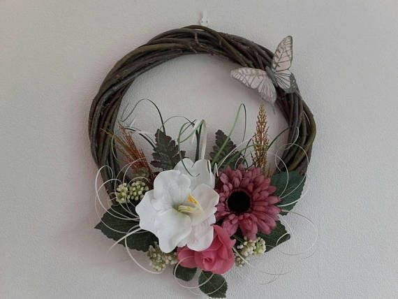 Check out this item in my Etsy shop https://www.etsy.com/listing/550320418/floral-wreathfront-door-wreathdoor