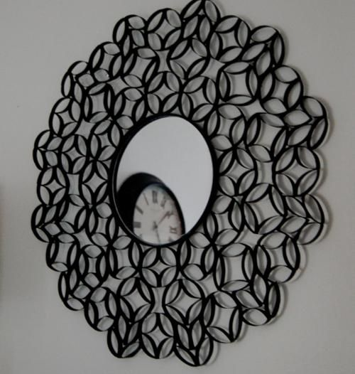 She Cut Up Her Old Toilet Paper Rolls And Turned Them Into THIS. I