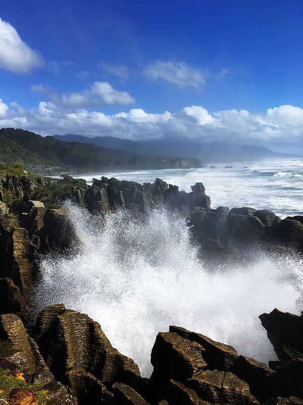 Punakaiki Pancake Rocks, Paparoa National Park New Zealand