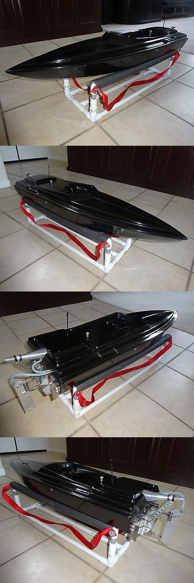 Boats and Watercraft 34058: Prather 40 Deep Vee Rc Boat Nitro Gas Complete -> BUY IT NOW ONLY: $799 on eBay!