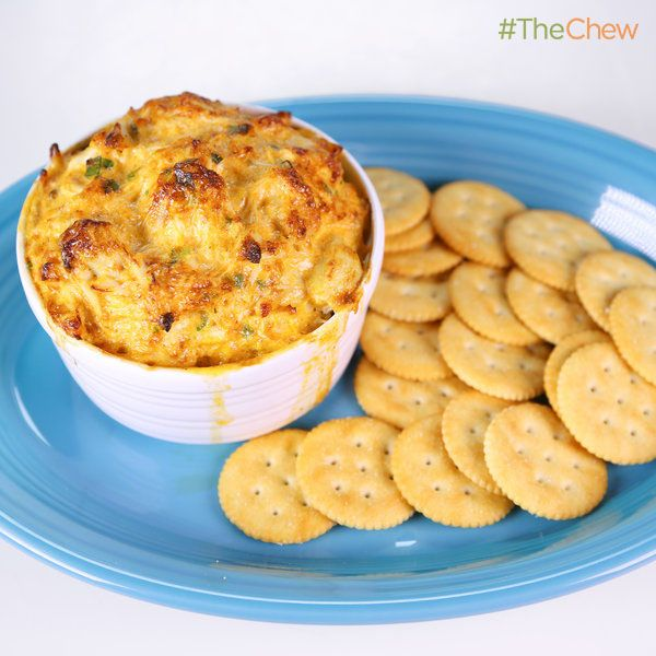 Clinton Kelly's Warm Crab Dip #TheChew