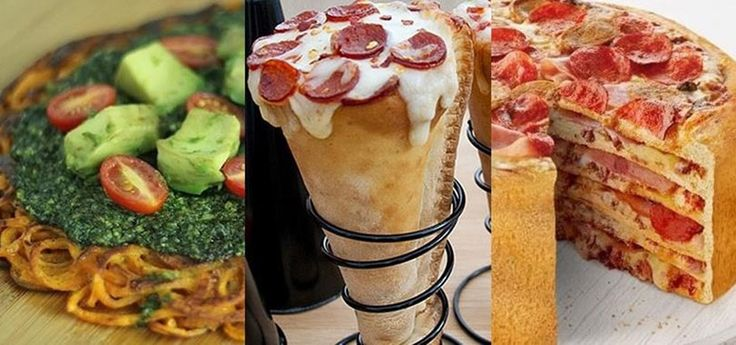 Hacks para pizza. ¡Se me hace agua a la boca!