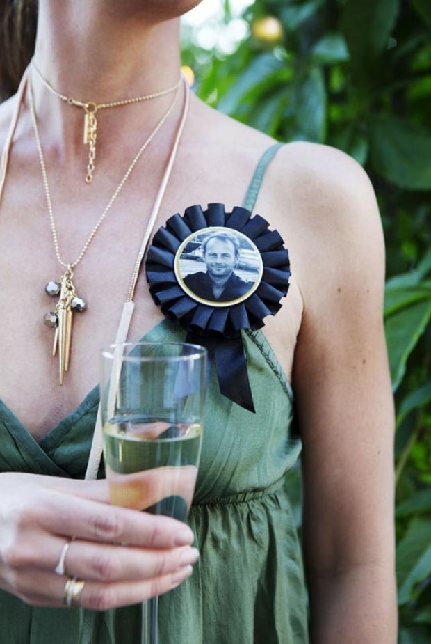 Love the medallions of the host! kkliving.no Styling Tone Kroken Photo Yvonne Wilhelmsen
