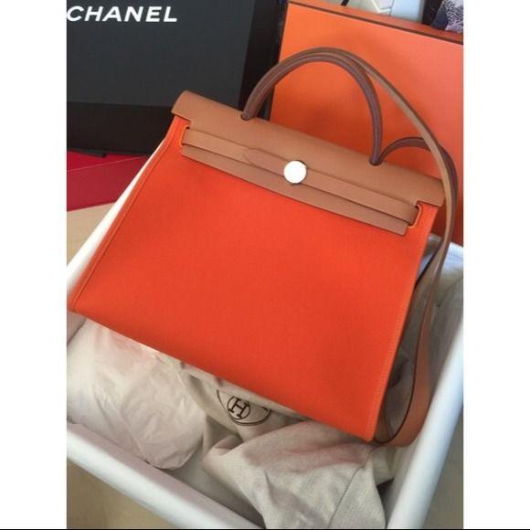 f0c992c920 Hermes HerBag 31 Orange ❤ Hermes Bags