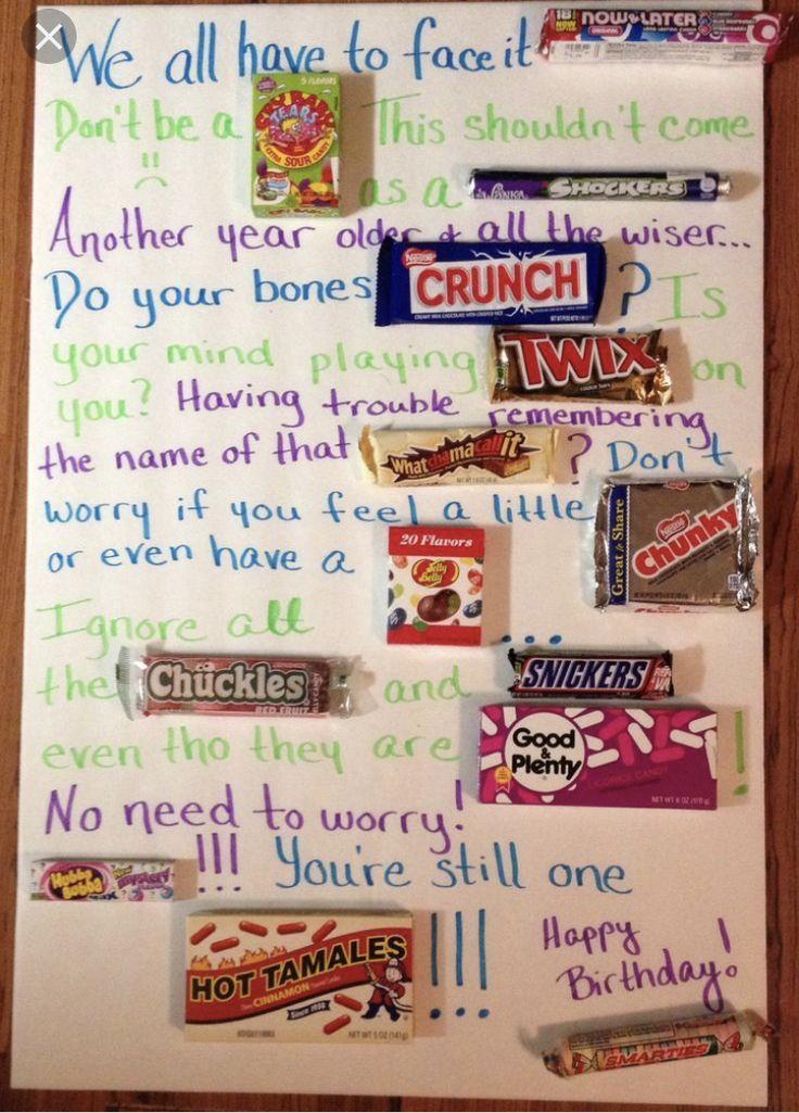 Happy Birthday Diy Candy Birthday Cards Birthday
