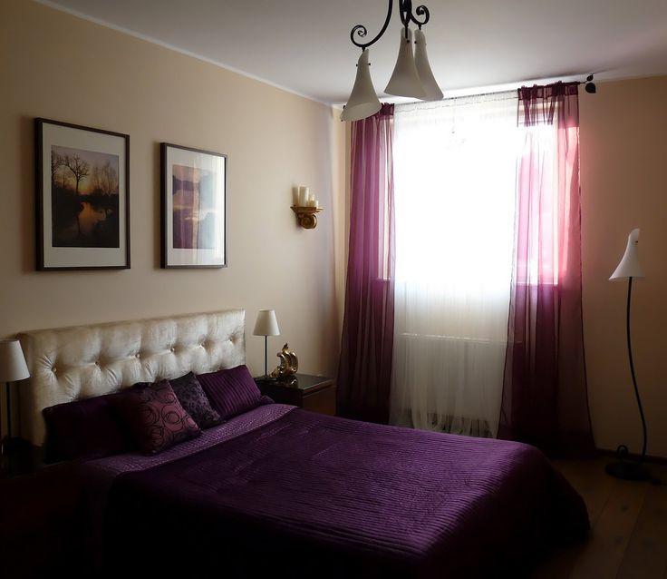 пурпурные шторы в интерьере фото - Поиск в Google