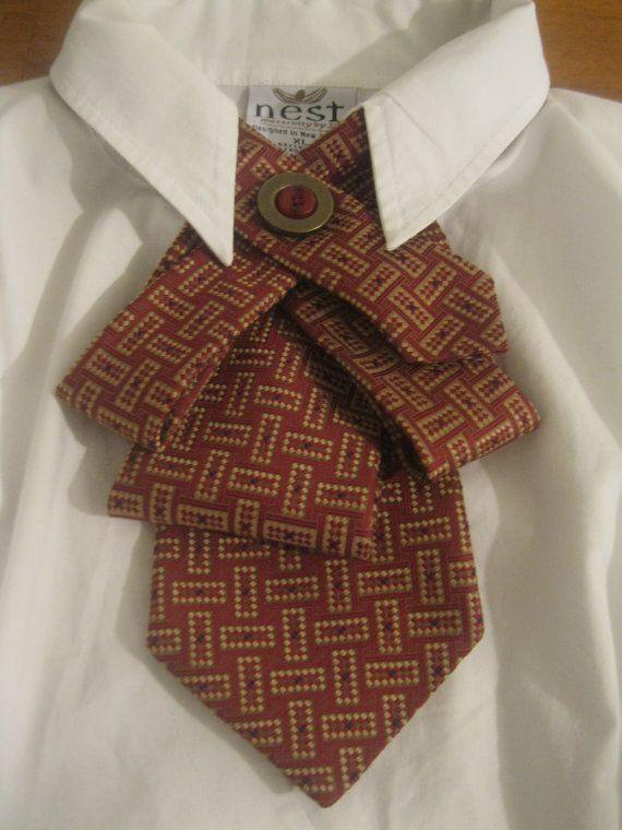 Новый способ носить галстук!