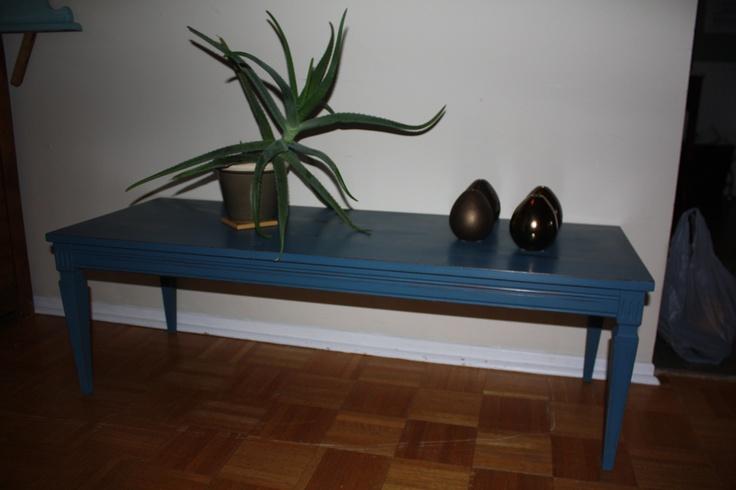 Vintage coffee table - ASCP Aubusson Blue
