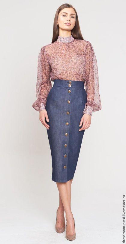 Silk blouse / Блузки ручной работы. Ярмарка Мастеров - ручная работа. Купить Блуза из шелка. Handmade. Кремовый, дизайнерская одежда