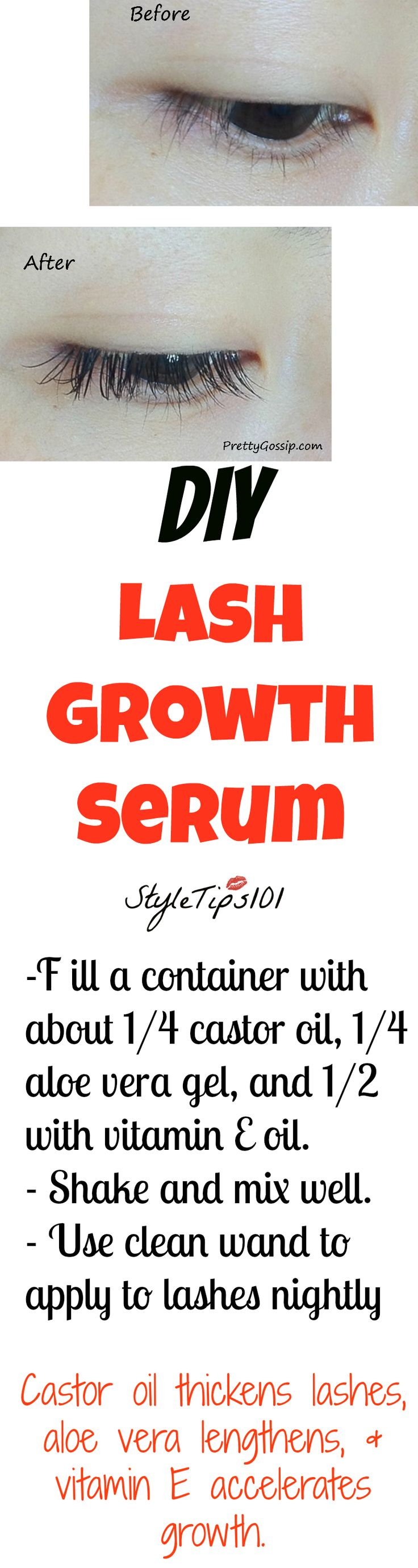 Eyelash Lengthening Serum