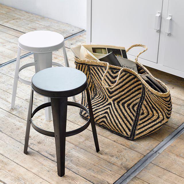 BENDO Galvanised Metal Stool & Best 25+ Metal stool ideas on Pinterest | Stools Wood stool and ... islam-shia.org