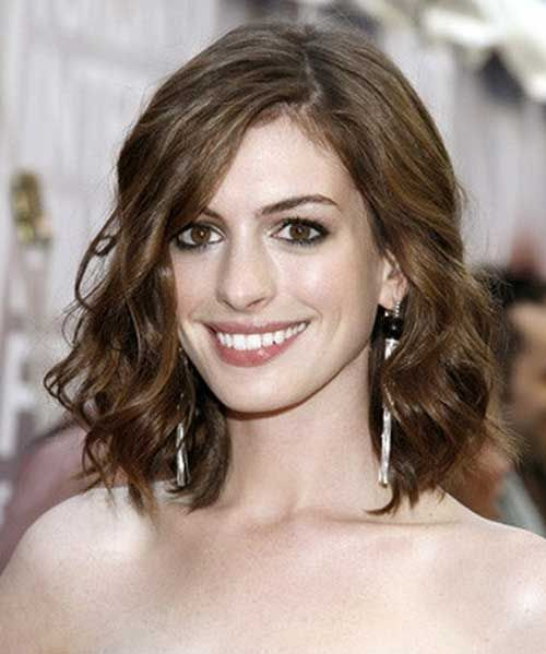 Anne Hathaway Lob: Top 25 Ideas About Curly Wavy Hair On Pinterest