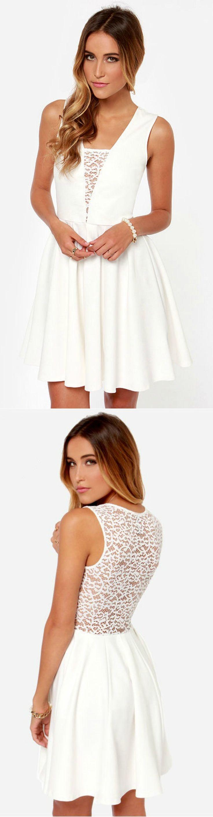 Lace + Ivory Dress