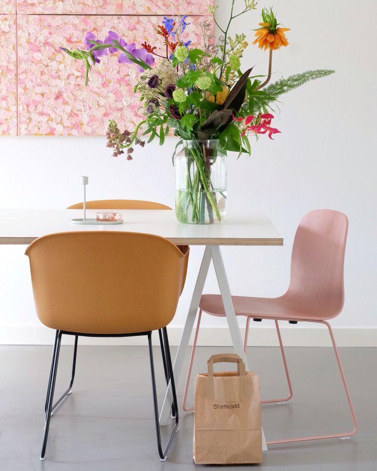Bloemen houden van mij je t 39 colorfull interior - Decoratie interieur corridor ingang ...