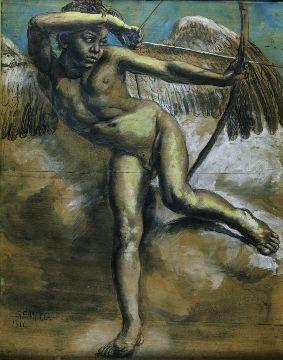vincenzo_gemito_Arciere_Collezione_privata_1911