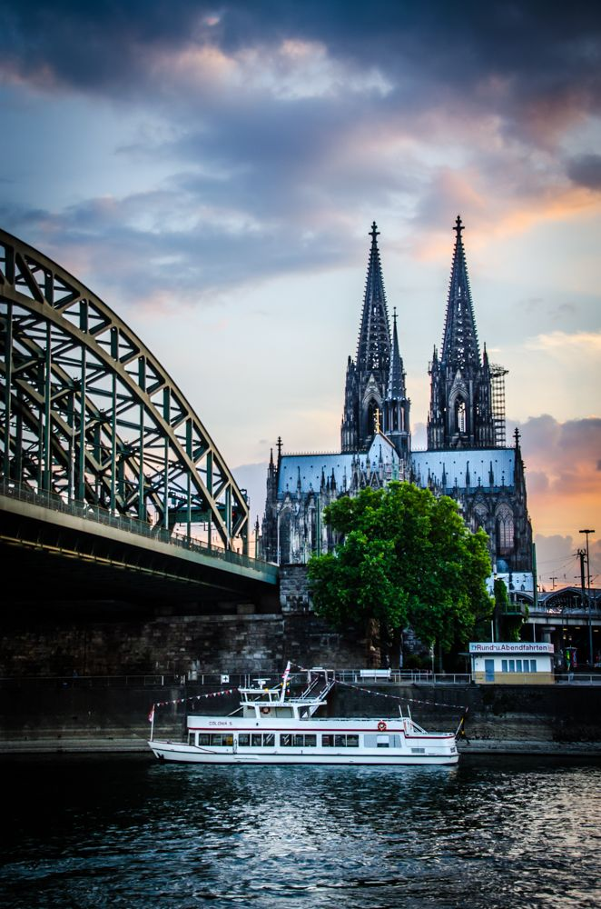 Sunset Sunday – The Dom of Köln, Germany