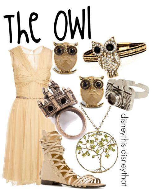 Disney inspired clothing by disneythis-disneythat. The Owl. I love owls!!!!! :D