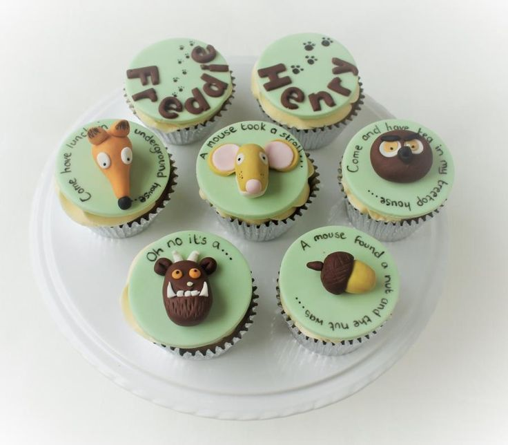 The Gruffalo Cupcakes - Cake by Candy's Cupcakes