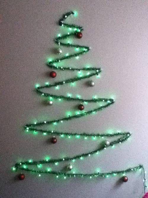 Árboles de Navidad fáciles para hacer a última hora...