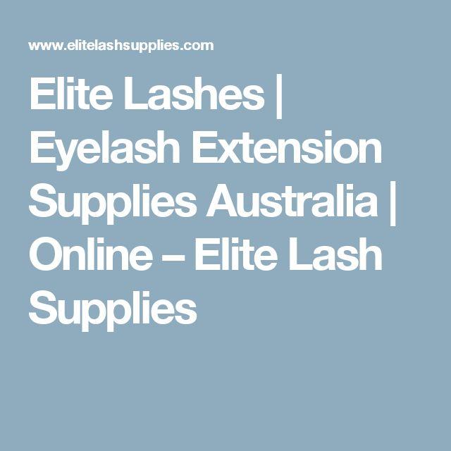 Elite Lashes | Eyelash Extension Supplies Australia | Online                      – Elite Lash Supplies