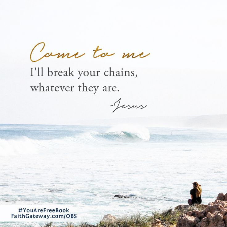 """I want to be free. Don't you? How did we get so confused about our freedom in Christ? It's a concept that I used to take it at face-value, but now… life, and brokenness, and the burdens that have a habit of piling up smothered freedom somewhere along the way. Is that true for you,<a href=""""http://www.faithgateway.com/you-are-free-week-1/"""" title=""""Read more"""" >...</a>"""