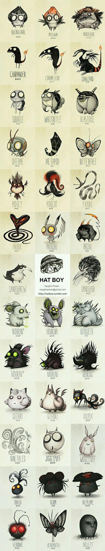 Tim Burton Pokemon (Vaughn Pinpin) - 9GAG