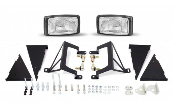 "The Jass Performance Low Profile Headlight kits is a straight replacement and upgrade from the standard round 7"" lamps to a sportier improved rectangular Hella E-code headlamps for the NA/Mk1 Mazda Miata MX-5 EUNOS roadster. The Low Profile Headlights are featuring:  Fully reversible upgrade of the stock headlight bodies. Premium branded E-signed, TÜV approved Hella Headlights with integrated low/high beam. Significantly improved light output to the US headlights. Extremely low profile…"