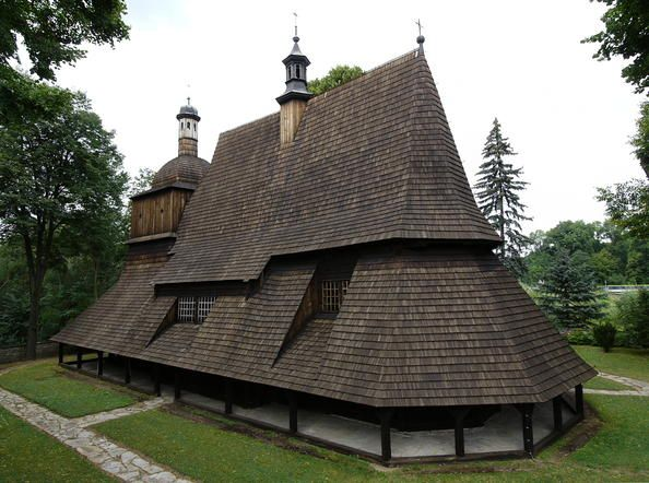 The wooden churches of southern Little Poland represent outstanding examples of the different aspects of medieval church-building traditions in Roman Catholic culture. Built using the horizontal log technique, common in eastern and northern Europe since the Middle Ages, these churches were sponsored by noble families and became status symbols. They offered an alternative to the stone structures erected in urban centres.
