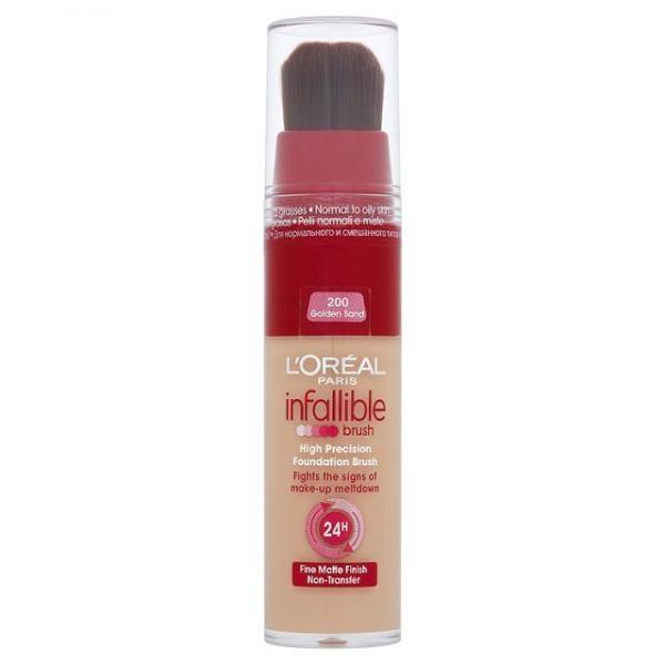 Fond de Ten LOreal Infaillible Make-up 24 Ore Brush - http://www.carlisa.ro/202~Machiaj-pentru-fata/404-Fond-de-Ten-L-Oreal-Infaillible-Make-up-24-Ore-Brush.html