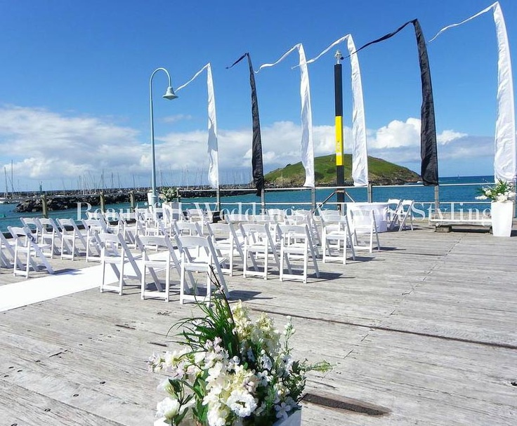 On the Coffs Jetty, created by Coffs Harbour Weddings