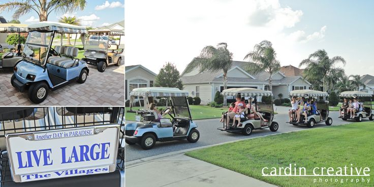 The Villages Florida, this is a great way to see The Villages