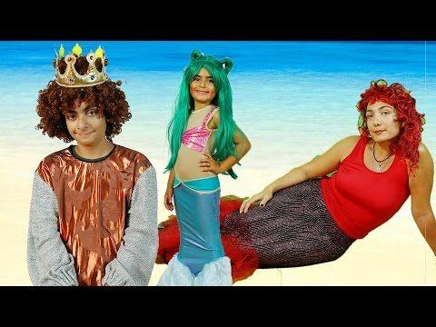 Deniz Kızları Bayram Ziyareti   Deniz Kızı Kostümü   UmiKids - YouTube