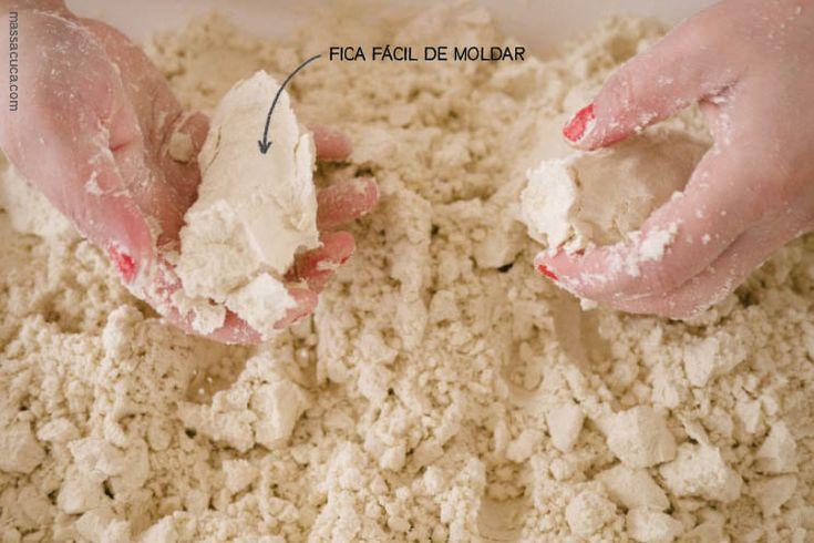 Textura Areia Caseira | Cloud Dough Texture