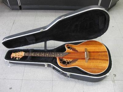 Ovation 1778 KGC Custom Acoustic Electric Guitar Made For Guitar Center Nice
