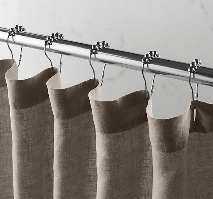 5 Favorites Summery Shower Curtains Linen Burlap