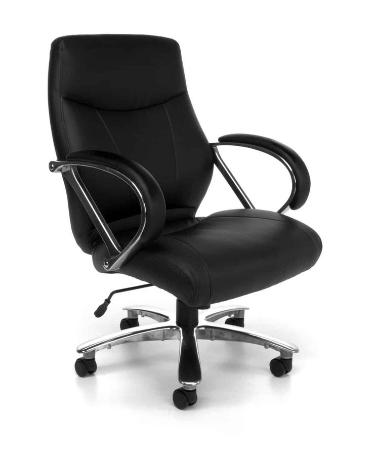 Avenger series big and tall leather executive chair review