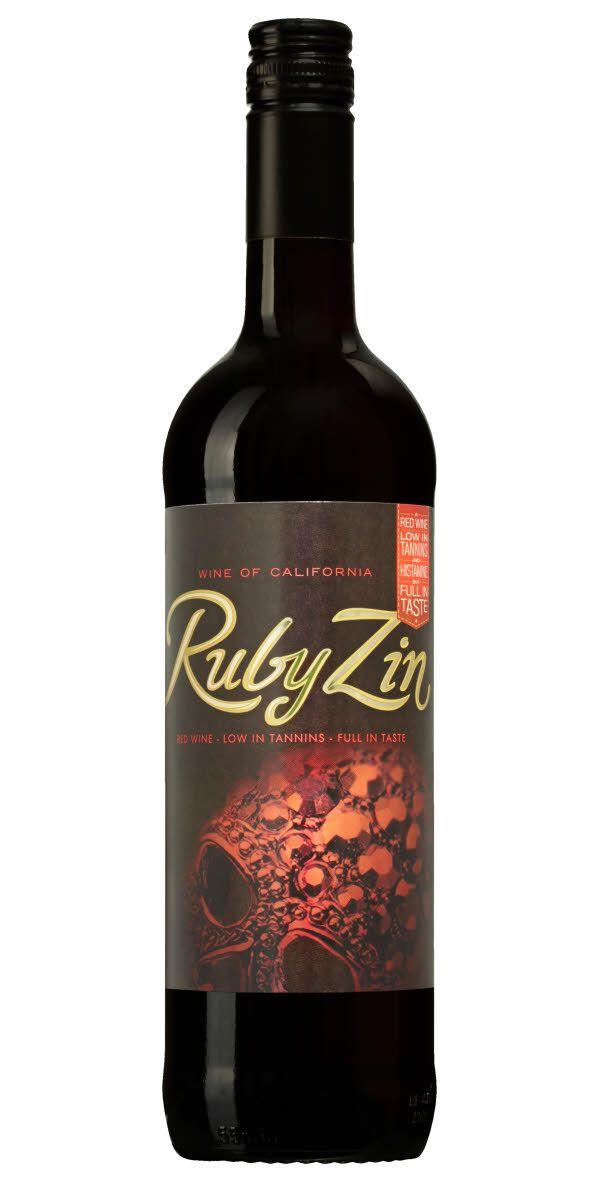 Ruby Zin är ett designsamarbete med låtskrivaren, sångerskan och managern Laila Bagge. 116000 flaskor sålda 2016. Ett fylligt vin samtidigt som det innehåller lägre halter av histamin och garvämnen.