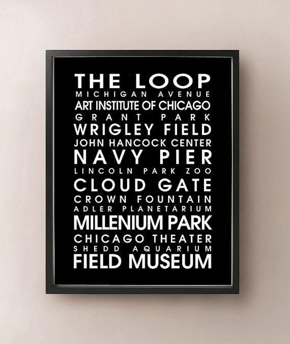 Chicago Bus Roll by CartoCreative on Etsy