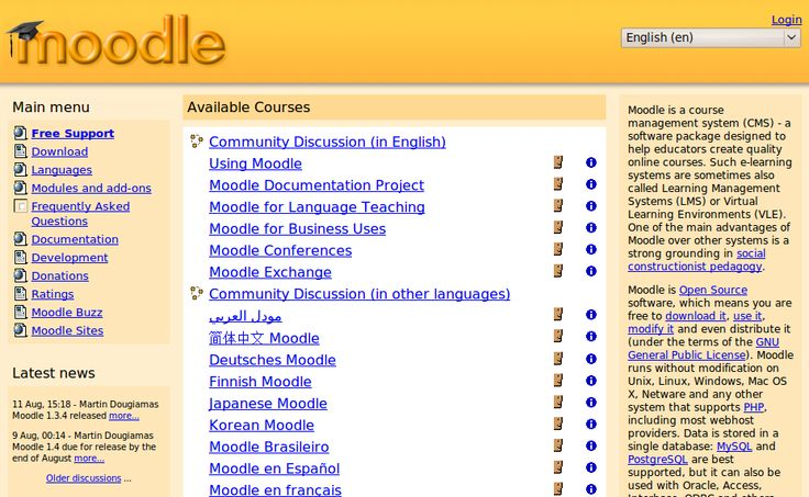 Moodle Elearning Opensource Free Script | CodeSpira