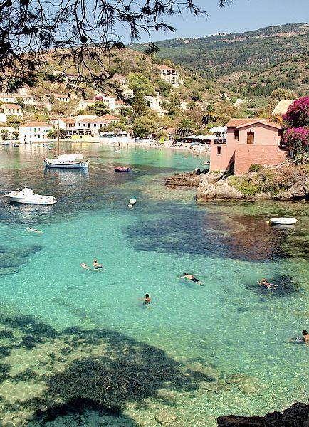Mediterranean Sea Greece | Ionian Archipelago | Kefalonia. Amazing Petani Bay. https://www.facebook.com/451343368277721/photos/a.451346598277398.1073741828.451343368277721/687941837951205/?type=1