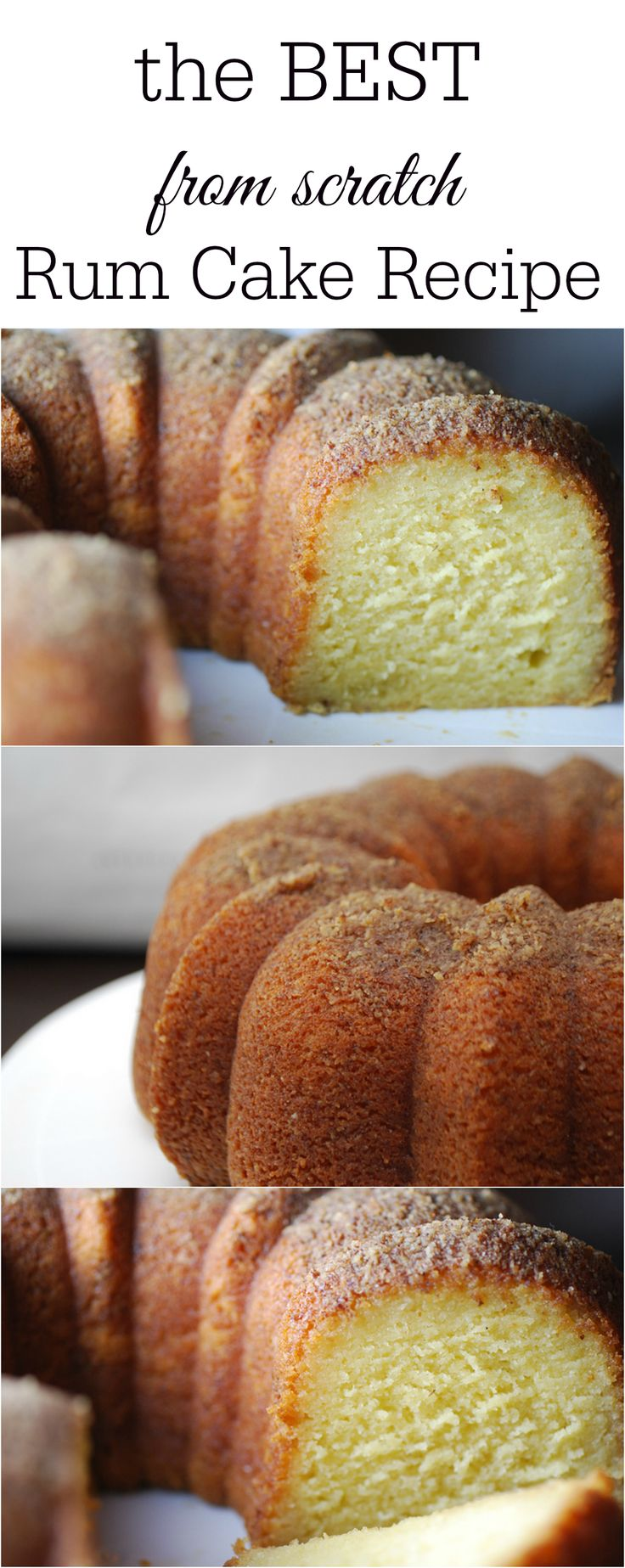 The best from-scratch rum cake recipe. Tastes exactly like Tortuga rum cakes! Amazing copy-cat recipe!