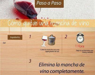 Como eliminar manchas de vino tinto en ropa blanca - Manchas de vino ...
