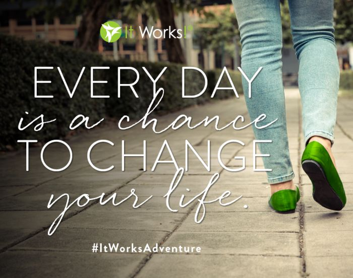 Why not today? #ItWorksAdventure