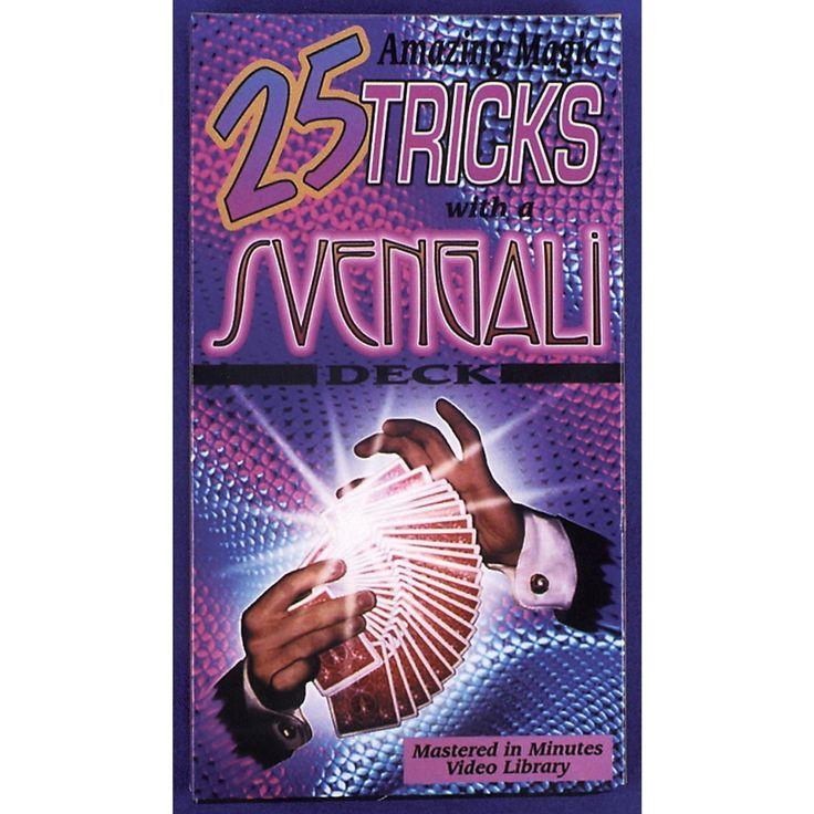 Video 25 Tricks Svengali Deck