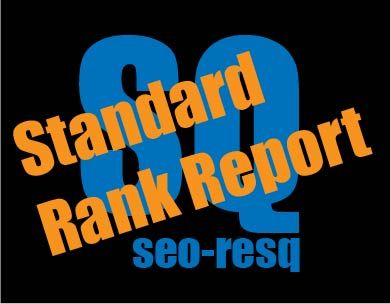 Standard SEO Rank Report von seo-resq.