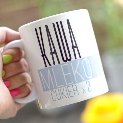 Jaką kawę pijesz? Dostaniesz opis na swoim kubku i nikt już się nie pomyli :)