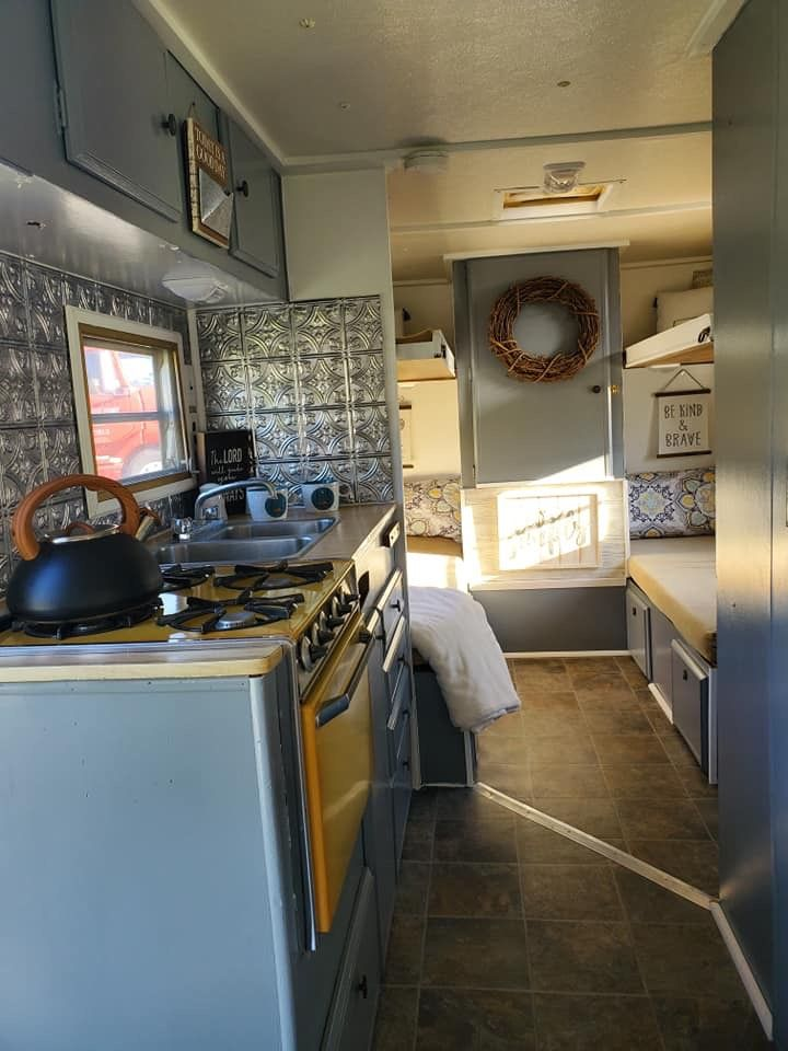 Pin By Linda H On Vintage Camper Decor Kitchen Appliances Wall