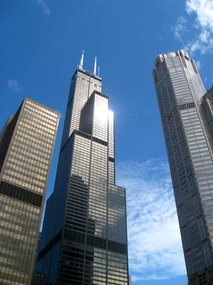 Sears tower willis tower chicago pinterest willis for How many floors are in the sears tower